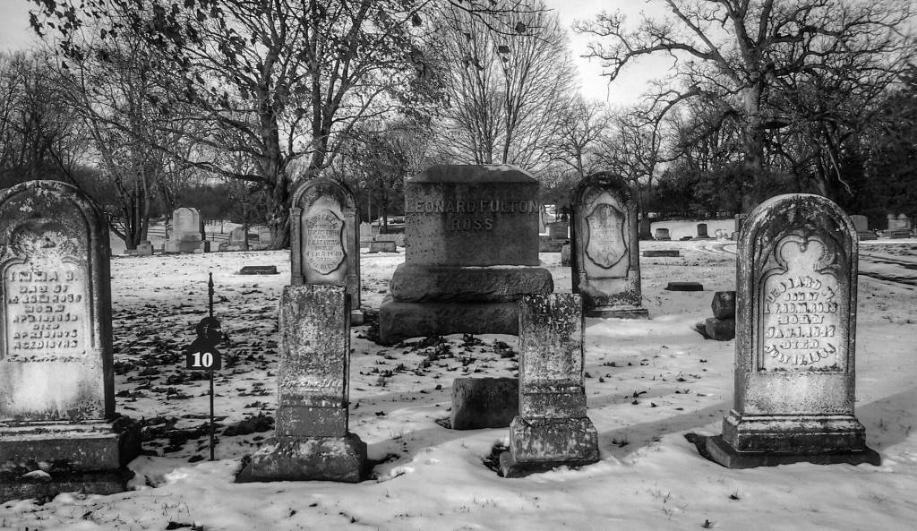 Oak Hill Cemetery, Lewistown – Il cimitero di Spoon River © Claudia Vannucci