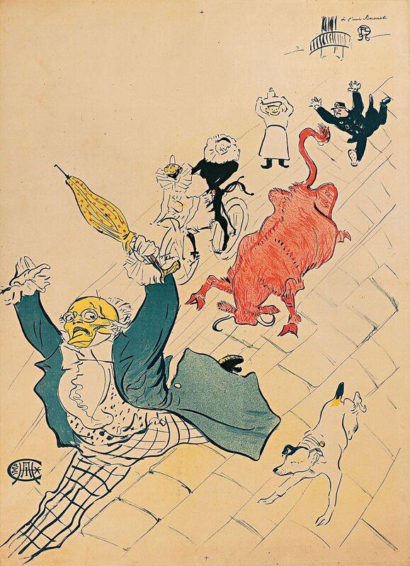 Il mondo della belle poque toulouse lautrec a torino for Lautrec torino